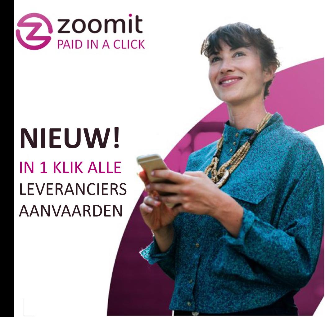 1 gezin op 4 ontvangt documenten digitaal via Zoomit
